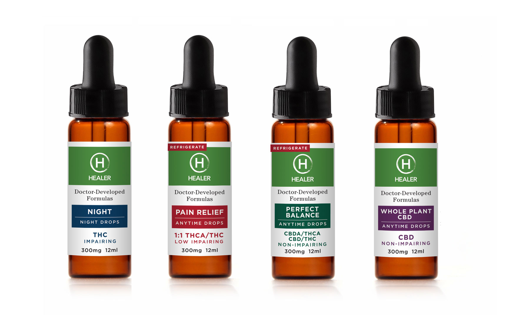 Healer Medical Cannabis Product Drops