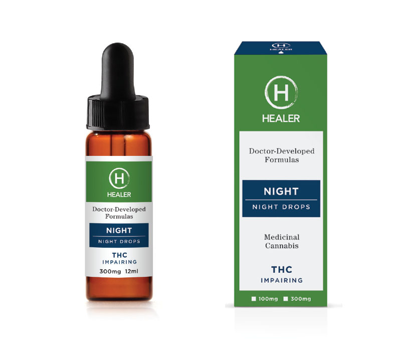 Healer Night Drops Medical Cannabis Products