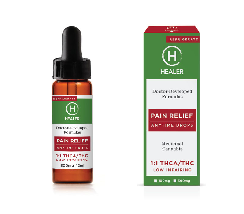Healer Pain Relief Medical Cannabis Products